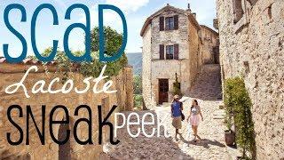 SCAD Lacoste - Sneak Peek!