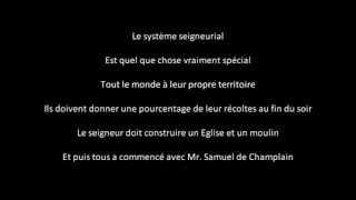 Samuel De Champlain Rap