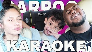 CARPOOL KARAOKE with KIDS