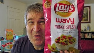 Lays Mango Salsa Potato Chips Review #dousaflavor