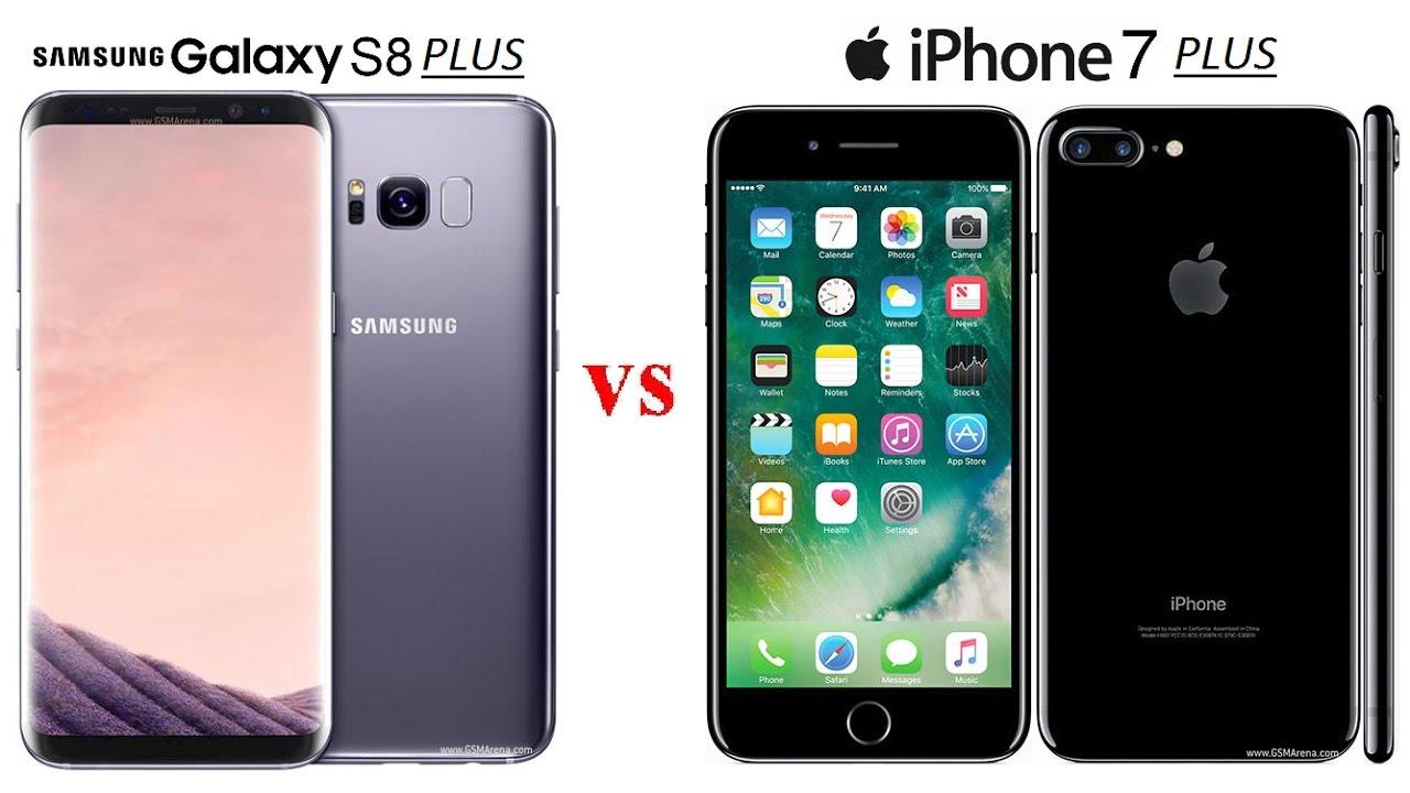 iphone 7 plus vs s8 plus specs