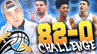 THE 82-0 CHALLENGE : 2K17 ORLANDO MAGIC!! - OMG Waaay Too Many Fails! NBA 2K16 MyLeague Rebuild