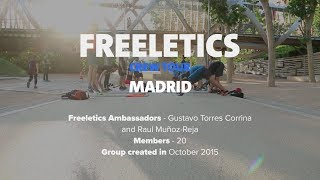 Freeletics Crew Tour 2017 | Madrid, Spain