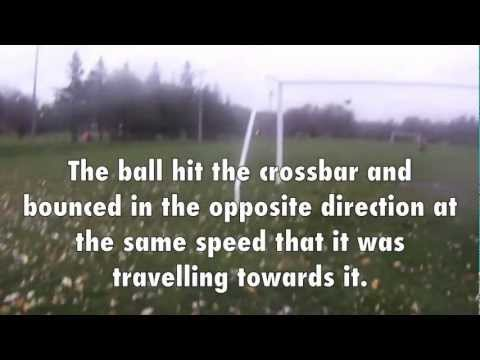 Newton's Three Laws of Motion - Soccer Demonstration