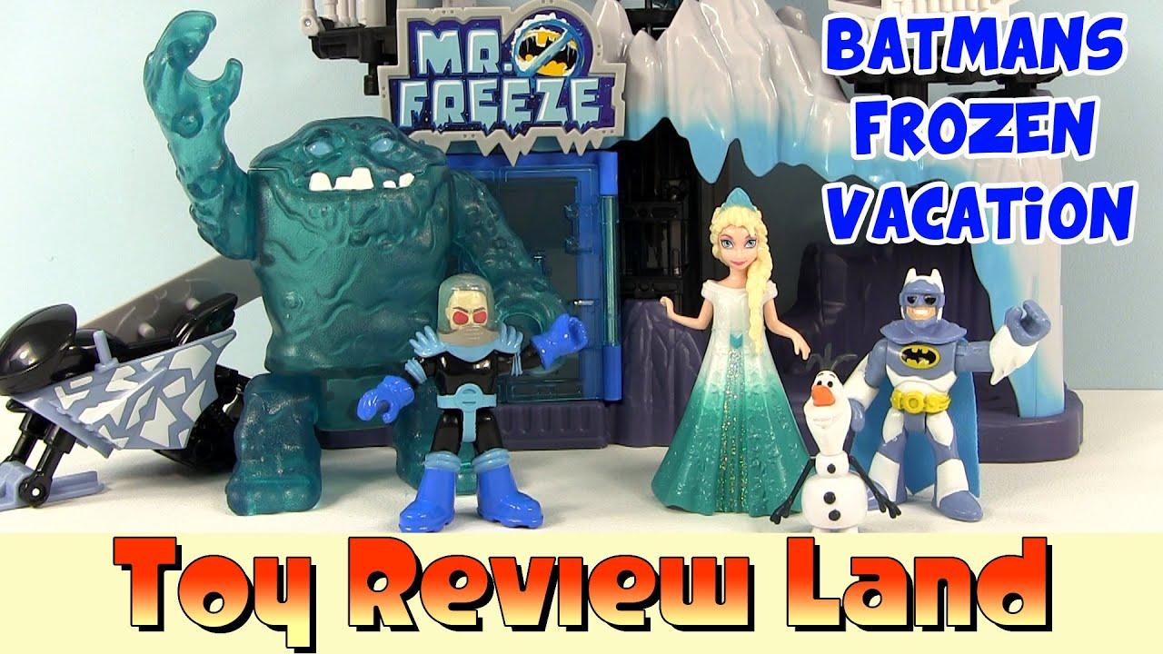 Imaginext Batmans Frozen Snowboarding Vacation: With Mr. Freeze ...