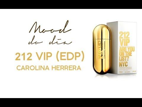 de3398ed96 212 VIP Feminino, Carolina Herrera - YouTube