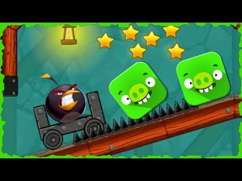 Angry Bird In Red Ball 4 Into The Cave Mobile Game Walkthrough #Redball4 #Redball4Gameplay