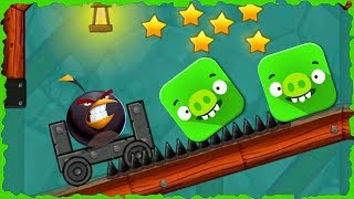 Angry Bird In Red Ball 4 Into The Cave Mobile Game Walkthrough…