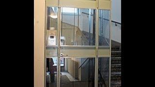 1939 gated KONE elevator (md. Schindler in 1998) in Helsinki, Finland