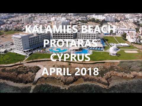 KALAMIES BEACH PROTARAS CYPRUS APRIL 2018 DJI MAVIC AIR