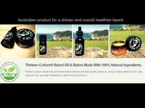 Thirteen Culture Beard Products