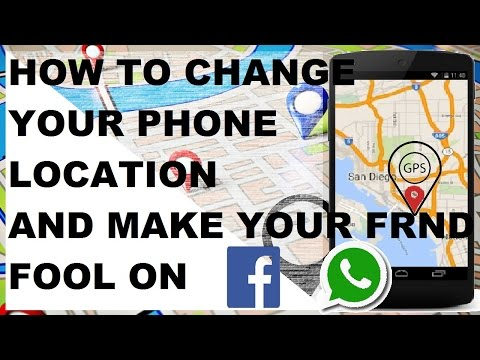 How to fake your location on Android - YouTube