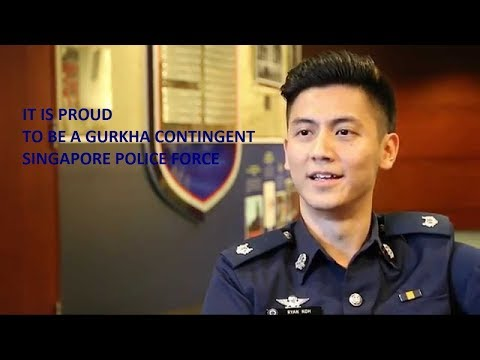 Singapore Police some memorable history, live interview and Training