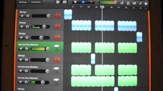 Awesome GarageBand iPad Rap Beat!