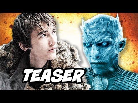 Game Of Thrones Season 8 Teaser - Bran Stark and Arya Stark Valyrian Dagger Breakdown