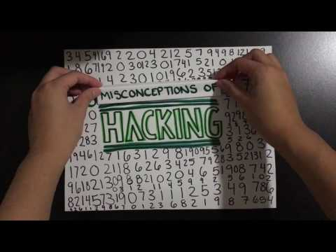 Top Three Misconceptions about Hacking