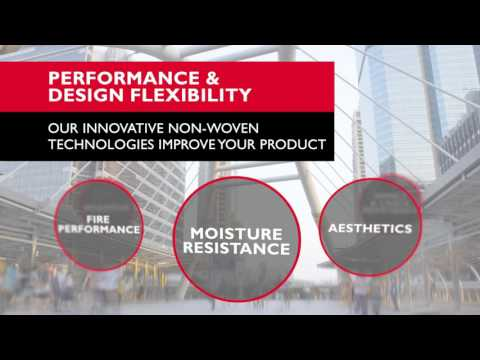 Owens Corning's innovative glass non-woven technologies
