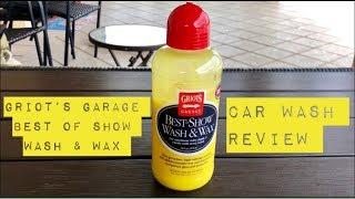 Griots Garage Best Of Show Wash & Wax (Car Wash)
