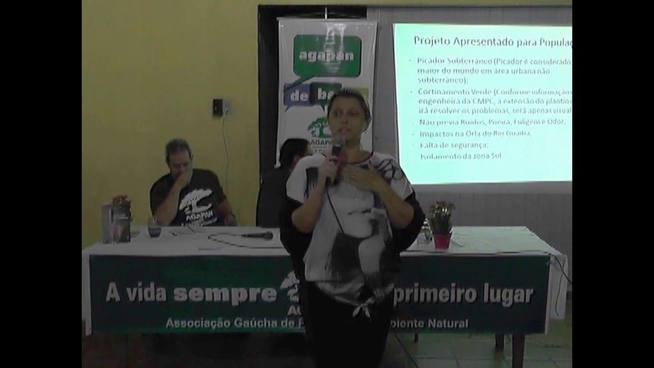 Agapan Debate   Guaíba e os impactos da CMPC
