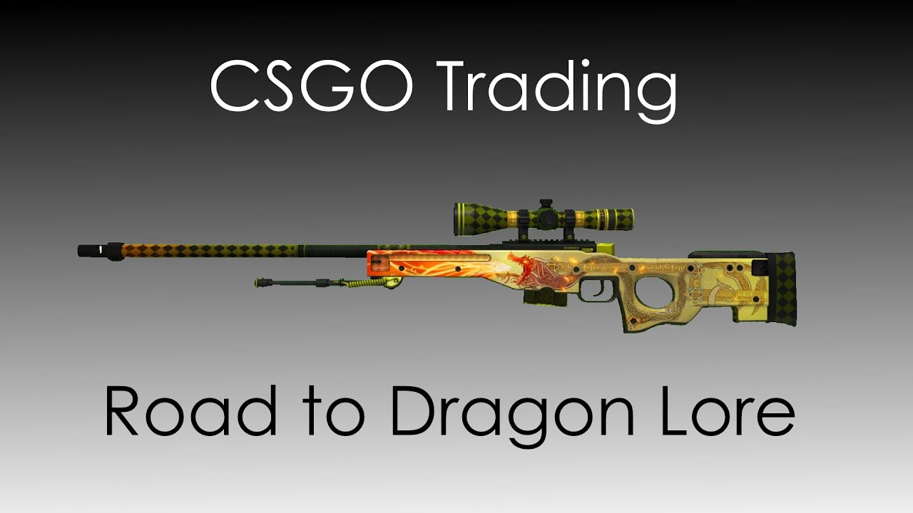 CSGO Trading :: Road to Dragon Lore - New Trading Method