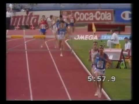 1990 European Athletics Championships Men's 3000m steeplechase final