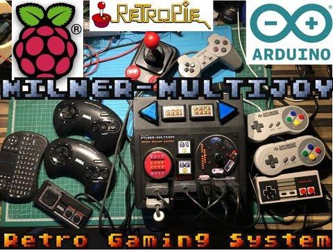 Multijoy Retro Gaming System | jfrmilner's Tech Blog