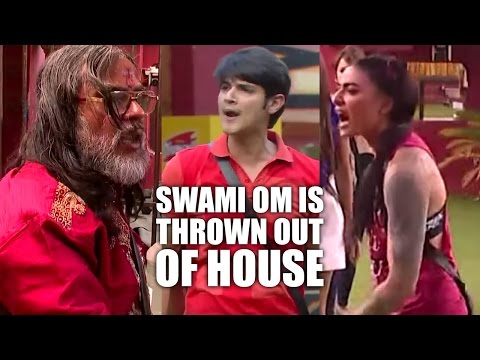 Bigg Boss 10   Day 79   Swami Om pees on...
