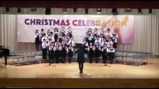 王錦輝小學junior 合唱團聖誕表演2016年