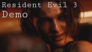 Resident Evil 3 Demo (Gameplay)(No Commentary)