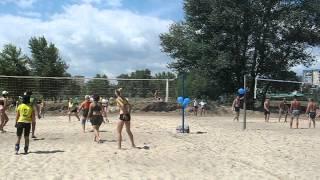 Днепродзержинск, волейбол в честь Дня Конституции