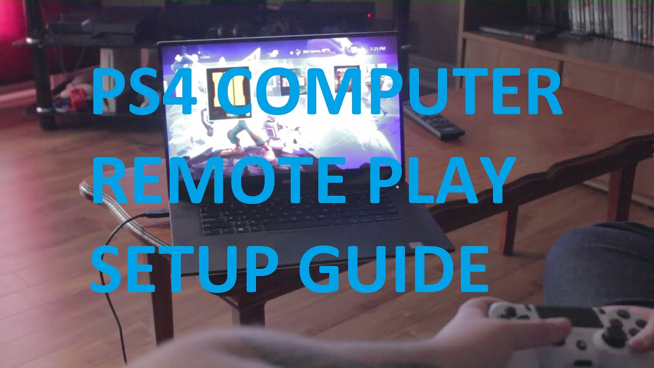 how to watch movies on your computer on your ps4