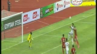 محمد صلاح يسجل هدف التعادل لمصر أمام الكونغو