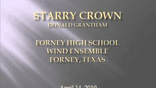 Starry Crown by Donald Grantham-Forney High School Wind Ensemble