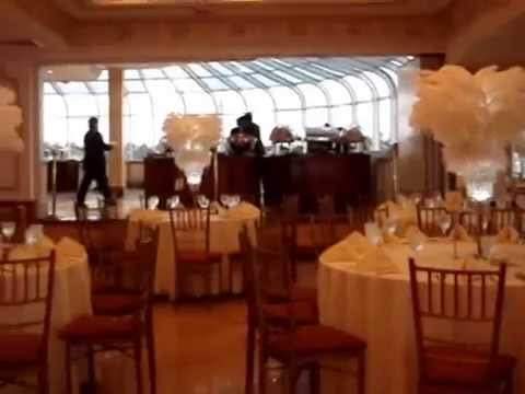 Colored Led Lights >> Great Gatsby Themed Sweet 16 at The Venetian Yacht Club NY - YouTube