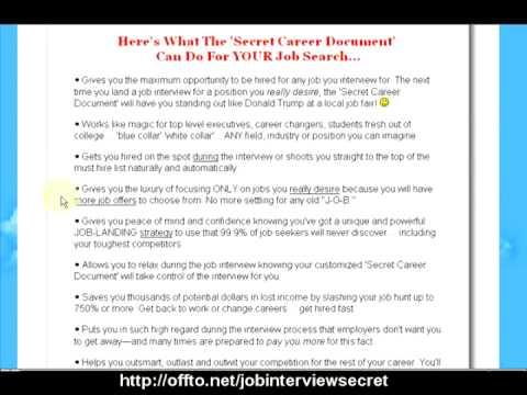 The Secret of Job