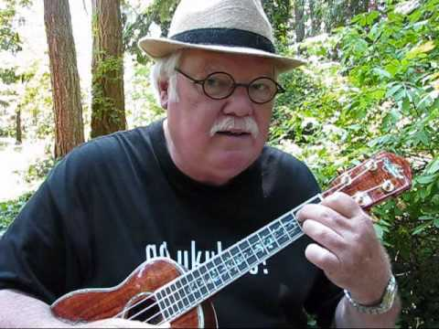 BASIC CHORDS FOR 4 COMMON KEYS for the UKULELE - UKULELE LESSON / TUTORIAL by