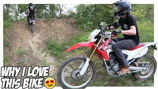 The CRF250L Is a BEAST! | My First Dual Sport Adventure