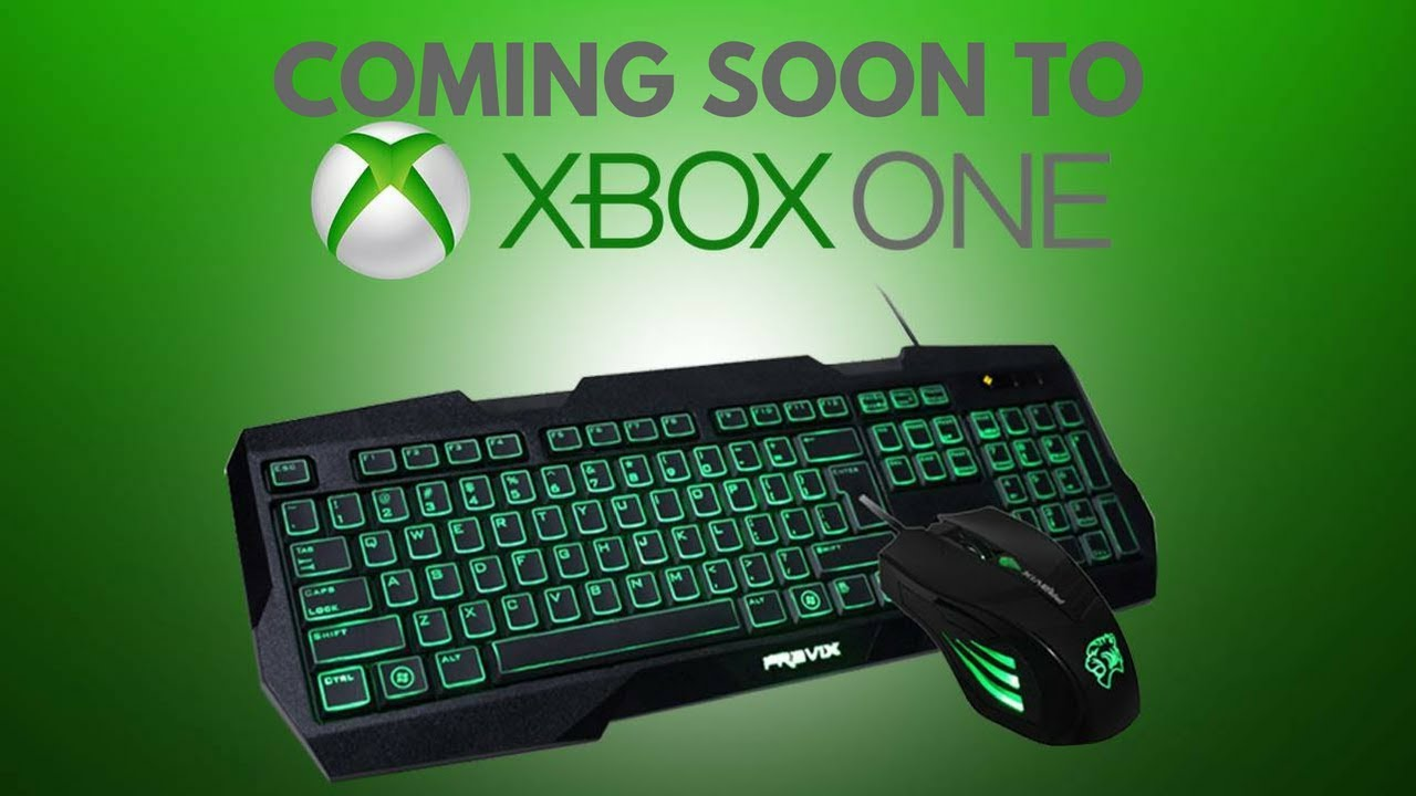 e978433a3c1 Xbox One Mouse and Keyboard Support Coming Soon - Could this be the death  of Xbox?