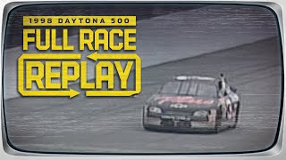 Dale Earnhardt finally wins the Daytona 500 | 1998 Daytona 500 | NASCAR Classic Race Replay
