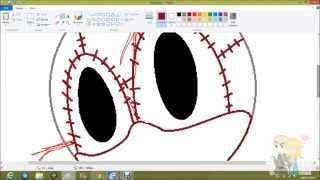 Drawing Stitches the doll