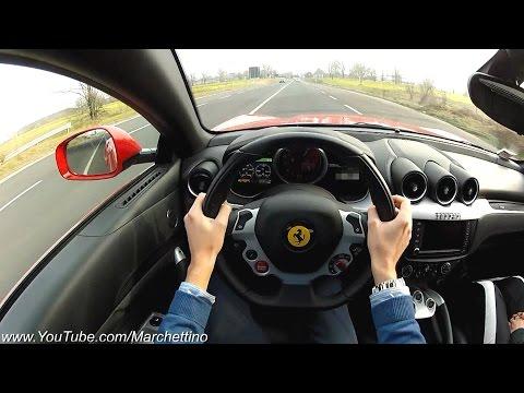 YOU Drive the Ferrari FF Fast! - POV Test Drive