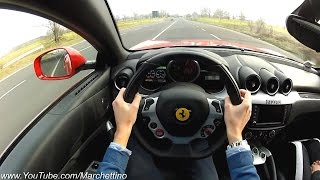YOU Drive the Ferrari FF Fast! - POV Test Drive