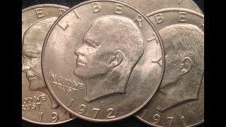 Eisenhower Dollar Coins - Non-Silver Coins Worth Money