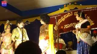 Yakshagana Hasya 2013 - Halladi Jayaram Shetty - Ramesh Bhandary - Agni Charithra