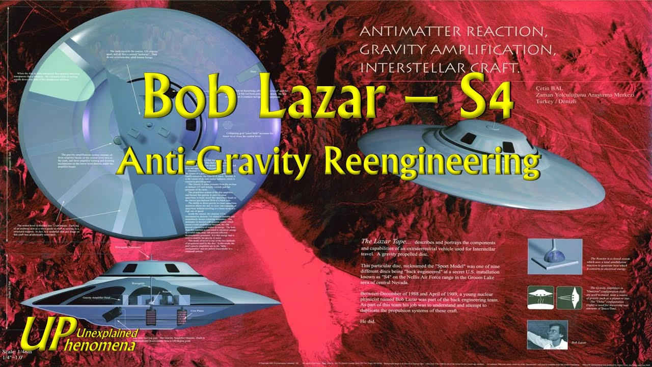 Bob Lazar - S4 - Anti-Gravity Reengineering - YouTube