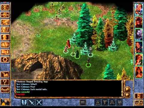 Let's Play Baldurs Gate Enhanced Edition 33: Subterranean Trees |