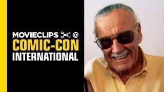 Comic-Con: Stan Lee - Exclusive Interview - Nerd HQ (2013) HD - Alison Haislip