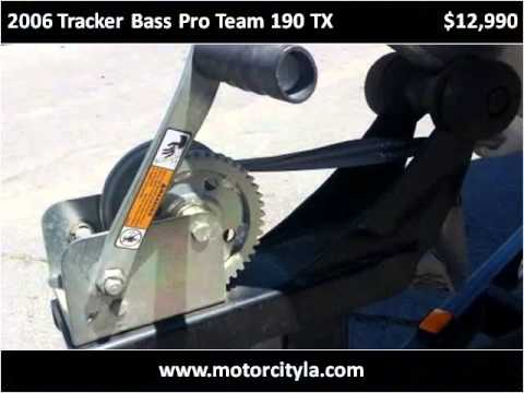 2006 Tracker Bass Pro Team 190 TX Used Cars Lafayette LA