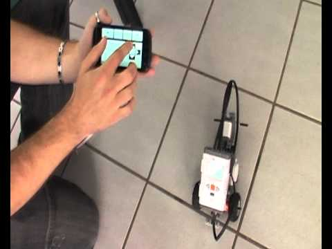 roboter per smartphone steuern youtube. Black Bedroom Furniture Sets. Home Design Ideas