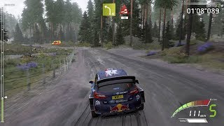 WRC 7 FIA World Rally Championship - Rain Gameplay (PC HD) [1080p60FPS]